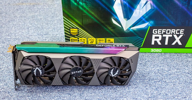 ZOTAC GAMING GeForce RTX 3080 AMP Holo