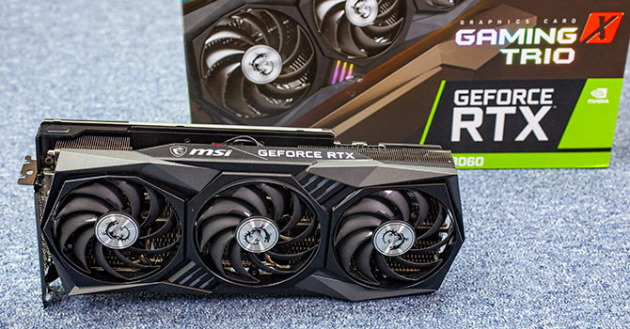 MSI GeForce RTX 3060 Gaming X Trio