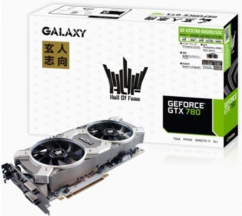 Galaxy GeForce GTX 780 HOF 6 GB