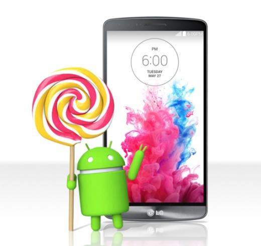 LG G3 получит обновление